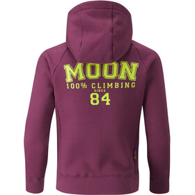 Moon Climbing Kids Jupiter Full Zip Hoody Purple Potion